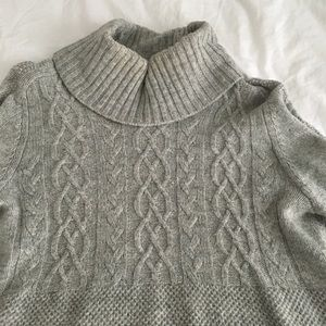 Gap Grey Turtleneck